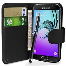 PU Leather Wallet Case Cover Pouch For Samsung Galaxy J5 2016 J510 Mobile Phone
