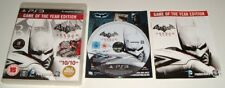 ** BATMAN ** Arkham City ** Playstation 3/PS3 GOTY Game Of The Year Edition EXC