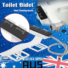 2018 Water Wash Clean Unisex Easy Toilet Bidet Seat Spray Attachment DUAL NOZZLE