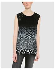 T-shirt, maglie e camicie da donna neri viscosi taglia XXL