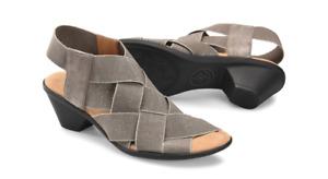 Comfortiva Farrow Smoke Stretch Fabric Wedge Sandal Women's sizes 6-11/NEW!!