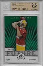 2005 Aaron Rodgers Upper Deck Reflections Green RC- BGS 9.5 Gem Mint... #56/75
