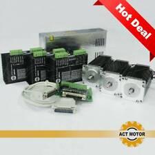 DE Free! 3Axis Nema23 CNC Kit 23HS2430 Schritmotor 3A 112mm 425oz-in DM542 3Nm
