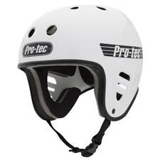 PRO TEC HELMET  Watersports Helmet Wake Kite surf  Full Cut Water - Gloss White