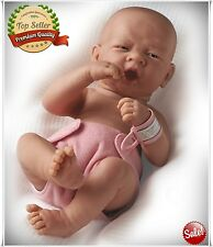 Realistic Newborn Baby Doll Girl Alive Reborn Beautiful Real Lifelike Looking