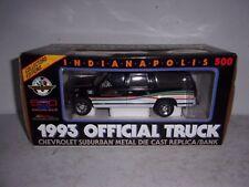 Brookfield Indianapolis 500 1993 Chevrolet Suburban Die-Cast Bank - NIB