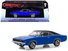 """1968 Dodge Charger (Dennis Guilder's) Blue with Black Top """"Christine"""" (1983)"""