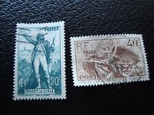 FRANCE - timbre yvert et tellier n° 314 315 obl (L1) stamp french
