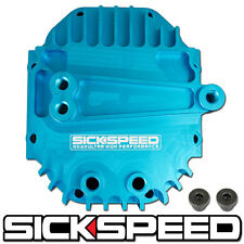 SICKSPEED BLUE REAR DIFFERENTIAL HIGH VOLUME CAPACITY COVER BILLET ALUMINUM