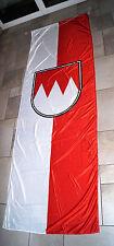 Bannerfahne Franken 3 m x 1 m - 2te. Wahl