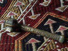 Antique Ottoman Ink Pen Qajar Qalamdan Divit Persian Greek Football Script Horse