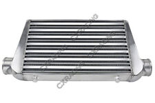 """CX 3"""" Inlet & Outlet Tube&Fin FMIC Intercooler 25x11.75x3 For RX7 RX8 Mazda"""