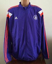 Adidas Mens Size XL Purple 2015 Boston Marathon Running Jacket Windbreaker