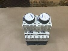 Lot Of 2 Telemecanique CAD32BD Control Relay Contactor With LADR0 #11D23PR5*KR
