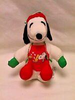Vtg Whitman's Candies CHRISTMAS SNOOPY ELF Parachute Puffalump Type PLUSH Doll