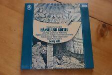 HUMPERDINCK Hänsel und Gretel SOLTI Popp 2 LP box DECCA 6.35436