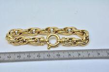 """Bracelet torsadé  or jaune 23.27 gr 18 carat 750  """" Gold  """" 19.8 cm"""