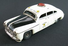 RARE VINTAGE TIPPCO TIPP&CO TIN TOY CAR MILITARY POLICE 1945 FRICTION GERMANY