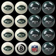 NFL New York Jets Pool Ball Billiards Balls Set w/ FREE Shipping