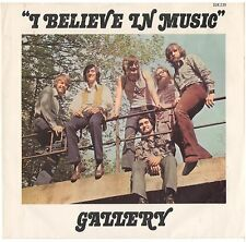 GALLERY--PICTURE SLEEVE ONLY--(I BELIEVE IN MUSIC)--PS--PIC--SLV