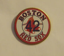 The Boston Red Sox Jackie Robinson #42 Retired Baseball Pin 42 Player