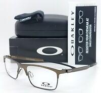 NEW Oakley Cartridge RX Eyeglasses Frame Pewter Satin Chrome OX5137-0252 52mm