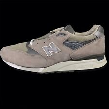 New Balance M998 Made in USA Bringback Retro Classic GreySilver Men's Size 13 2E