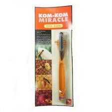 Kom-Kom Miracle Zig Zag Knife for Fruit Carving Cutting Peeler Slicing No.18