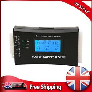 Digital LCD PC Computer 20/24Pins 4 PSU ATX BTX ITX SATA HDD Power Supply Tester