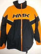 HMK Snowmobile Outlaw Jacket Mens Size Small Orange/Black