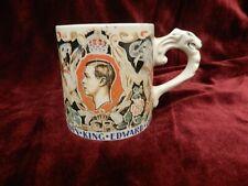 British Art Pottery Dame Laura Knight Edward VIII 1937 Commemerative Mug a/f