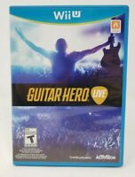 Guitar Hero Live (Game Only) Nintendo Wii U Game