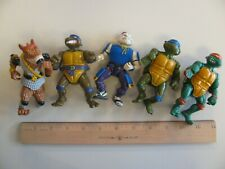 Vintage TMNT Mutant Ninja Turtles Figure Lot Missing Pieces