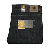 KAM Mens Big King Size Regular Jeans Comfort Fit Casual Denim Pants Trousers