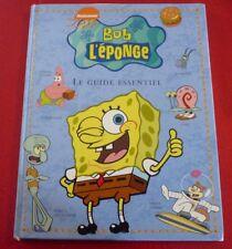 French Hard Cover Book Bob L'éponge Carrée Le Guide Essentiel -  BD
