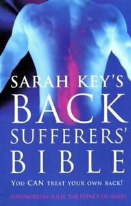 Sarah Key's Back Sufferers' Bible by Key  New 9780091814946 Fast Free Shipping=-