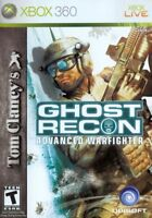 Tom Clancy's Ghost Recon Advanced Warfighter Xbox 360 One Compatible Complete VG