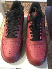 Air Force 1 '07 Mens Size 11.5 Team Red/Black