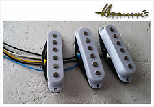 Deluxe Drive Single Coil Pick Up Set, Higher Output, Alnico V PU´s handgewickelt