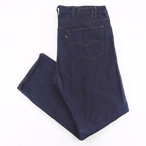 Vintage LEVI'S 501 MADE IN USA Blue Denim Regular Straight Jeans Mens W38 L30