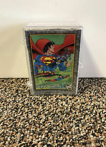 1993 Sky Box The Return Of SuperMan Complete Set 1-100
