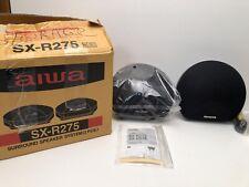 NEW Aiwa Model No SX-R275 40 watts Surround Sound 2 Speaker Set New In Box