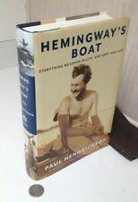 Hemingway's Boat - Hardcover Book w/ DJ - by Paul Hendrickson - Ernest Hemingway