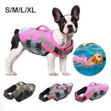 Float Coat Dog Life Jacket for Swimming Adjustable With Reflective Stripe