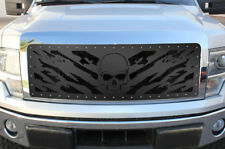 Steel Aftermarket Grille NIGHTMARE for 09-12 Ford F-150 LARIAT KING RANCH Grill