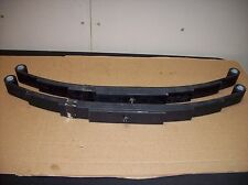 2 -New Utility Trailer Leaf Spring 5 Leaf Double Eye  5200 lbs Axle Boat Horse