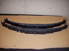 2 -New Utility Trailer Leaf Spring 5 Leaf Double Eye  5200 lbs Axle Boat Horse