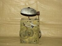 Early Antique Chain Weight Driven Grandfather Clock Movement
