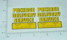 Structo Package Delivery Truck Stickers         ST-032