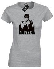 Scarface Tony Montana hommage Cult Movie mesdames t shirt